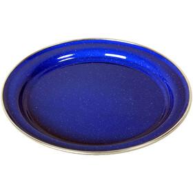 Basic Nature Emaljeplade Flad 26cm, blue